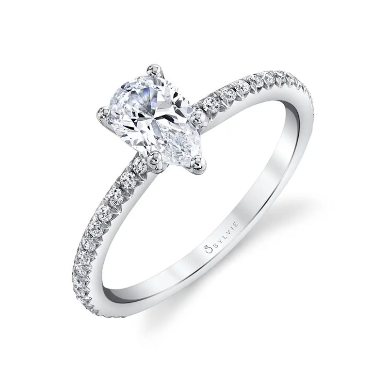 Pear Engagement Ring - Adorlee