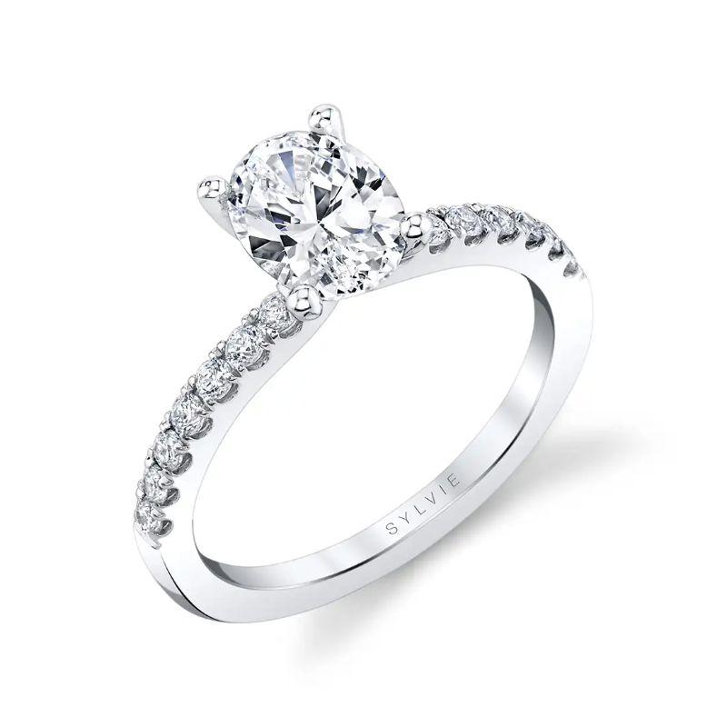 Oval Engagement Ring - Celeste