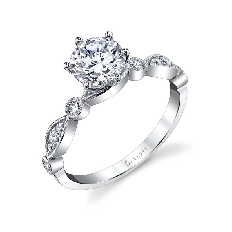 Stackable Engagement Ring - Charmant