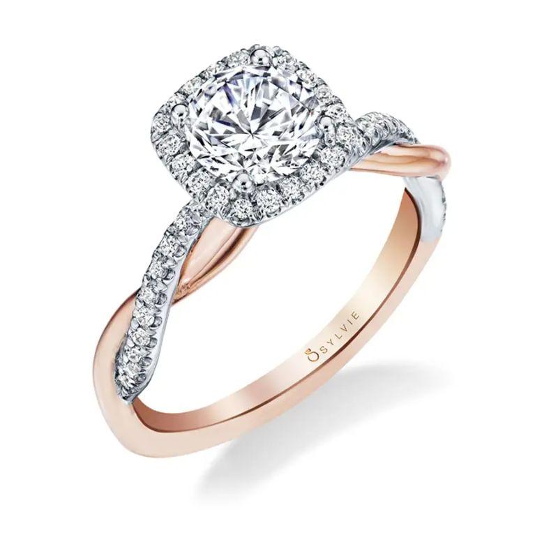 Cushion Cut Engagement Ring - Coralie