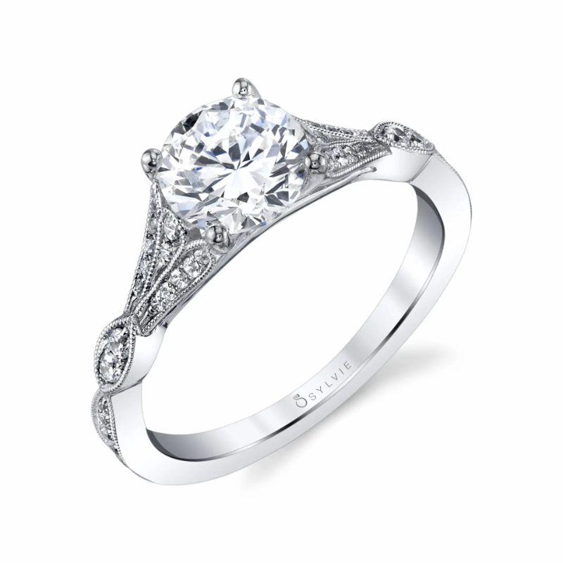 Unique Vintage Engagement Ring - Renee