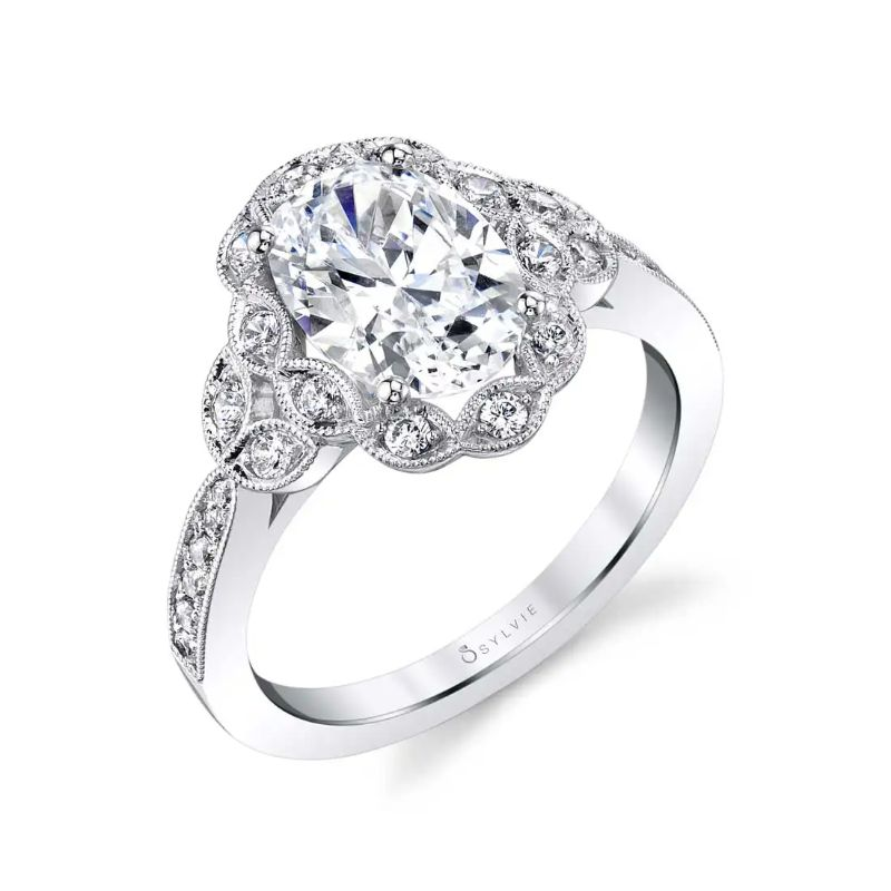 Oval Engagement Ring - Candide