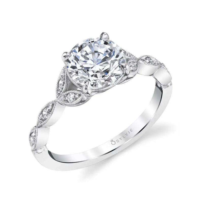 Unique Vintage Engagement Ring - Frederique