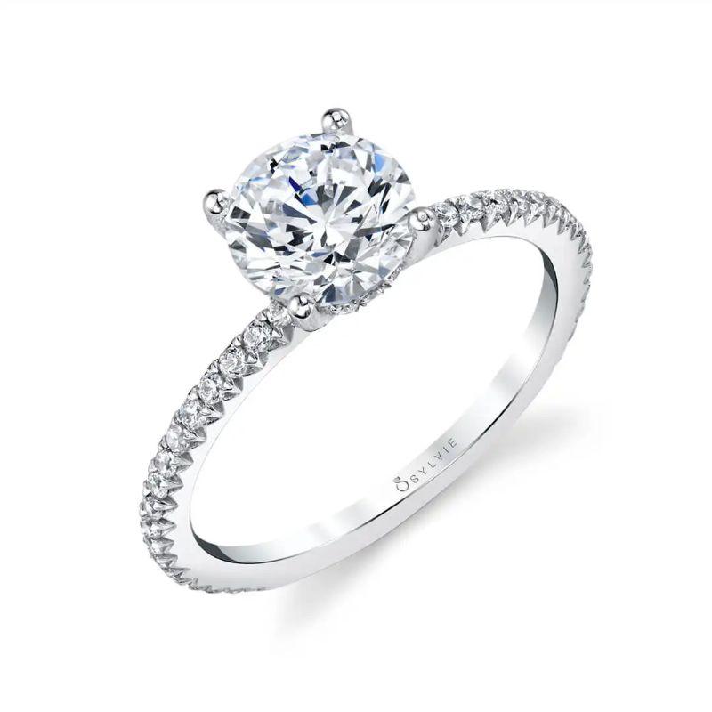 Classic Engagement Ring - Maryam