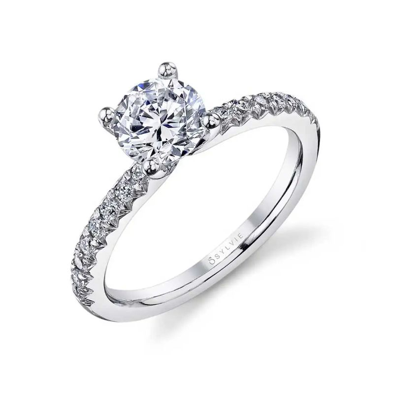Classic Engagement Ring - Heidi